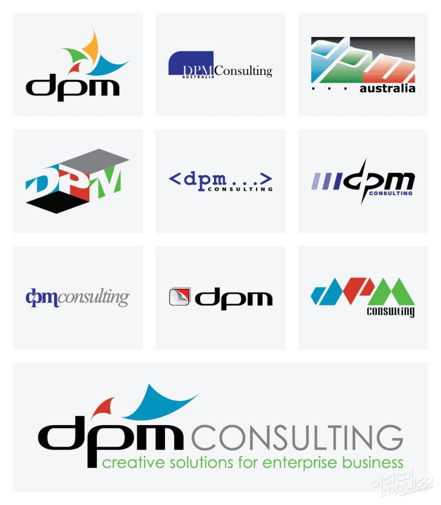 DPM Logo Concepts image