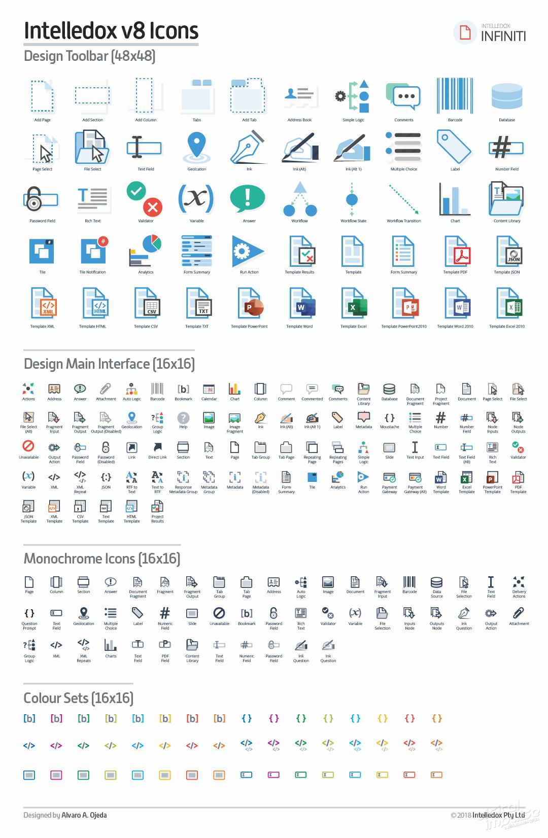 All Intelledox V8 Icons image