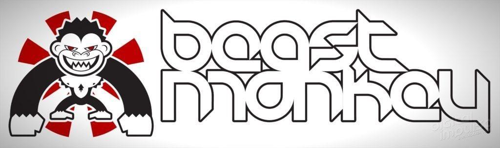Beast Monkey Reverse Logo landscape image