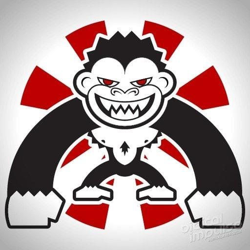 Beast Monkey sticker design image