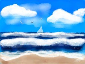Sand, Surf and Sky image