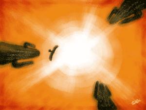 Sunstroke image