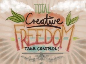 Total Creative Freedom image