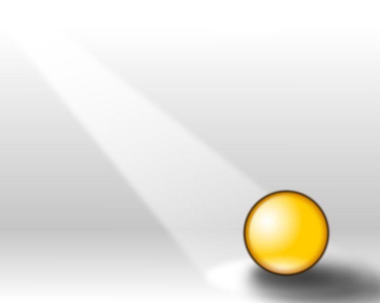 Amber Orb Wallpaper image