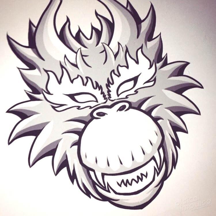 Beast Monkey concept iimage