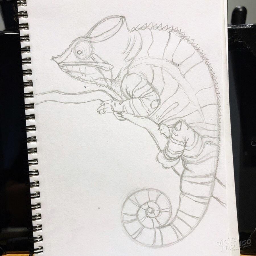 Panther Chameleon 002 Image