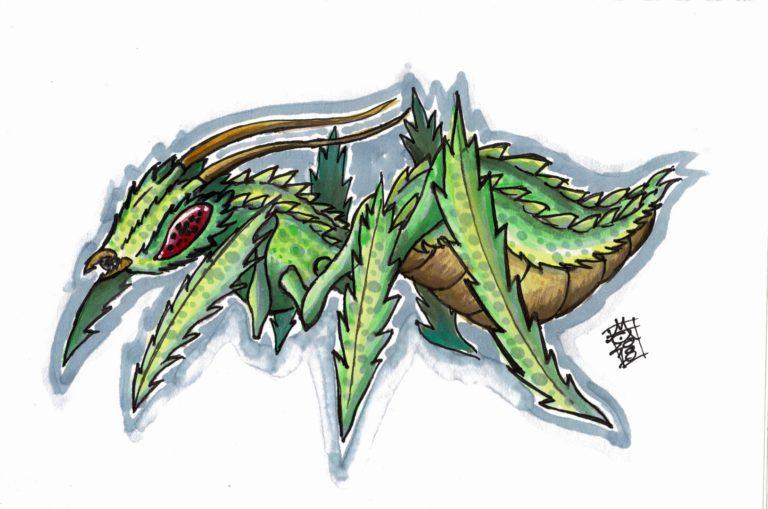 Alien Bug (13-10-2018)