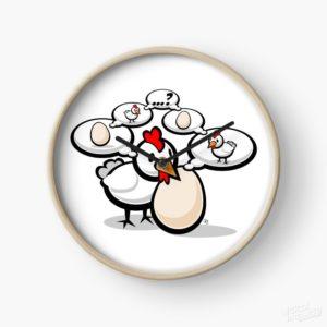 Eggnigma - Clock