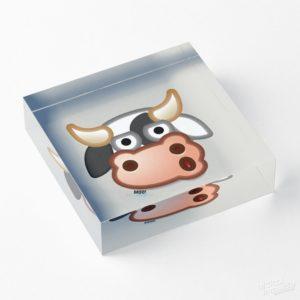 MOO - Acrylic Block
