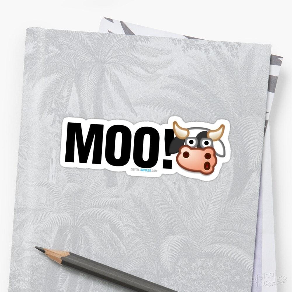 MOO - Sticker