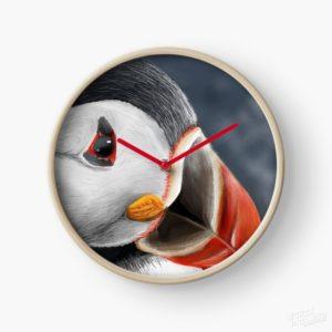 Puffin - Clock
