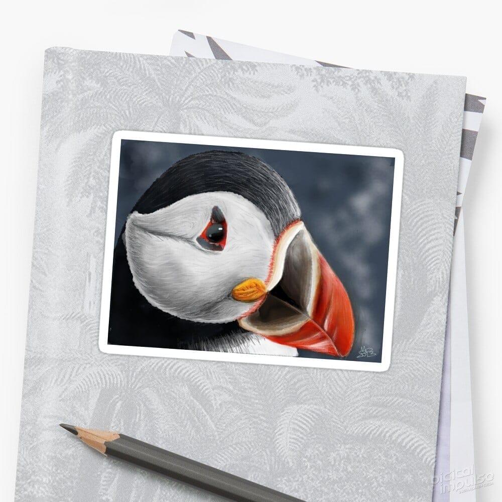 Puffin - Sticker