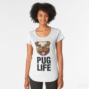 Pug Life - Scoop Tee