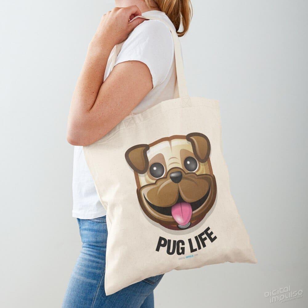 Pug Life- Tote