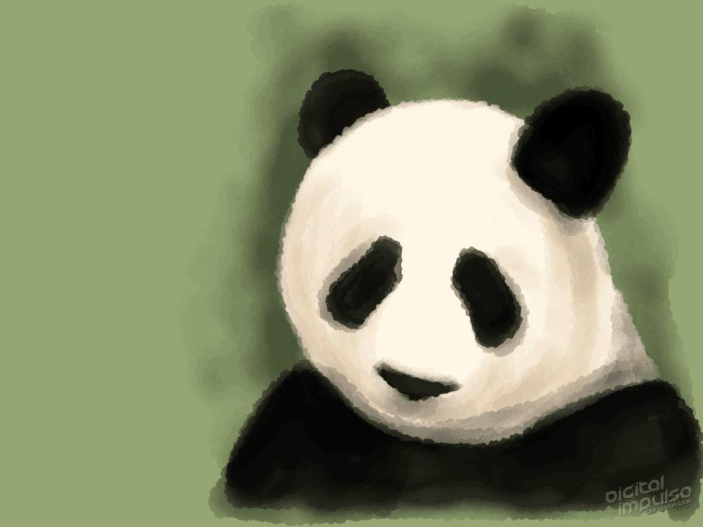 Sad Panda 002 Image