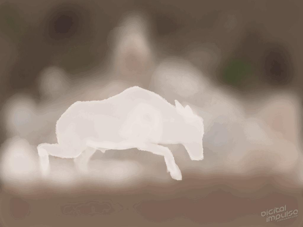 Scimitar-Horned Oryx Duel 003 Image