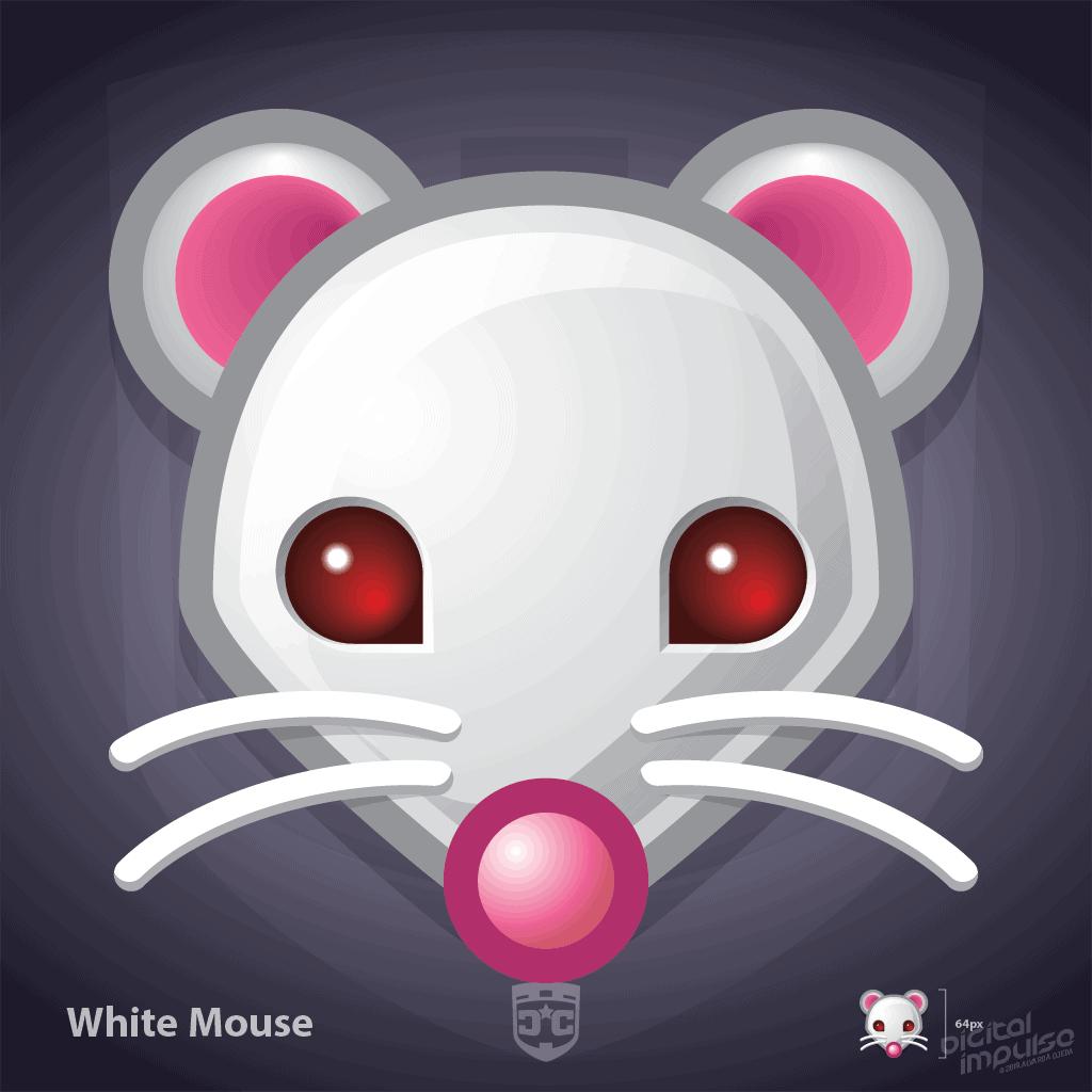 Digi*Cons - White Mouse