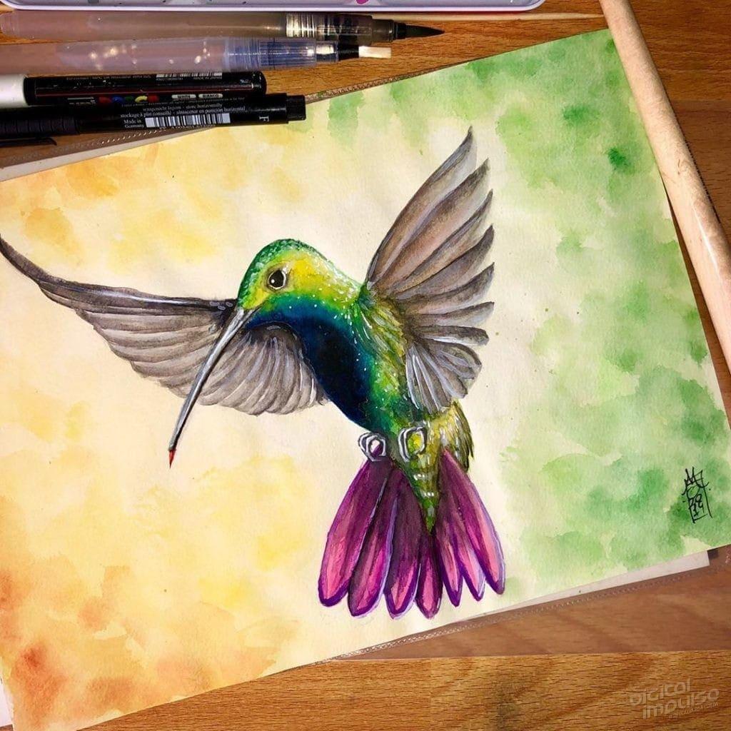Black-Throated Mango Hummingbird image