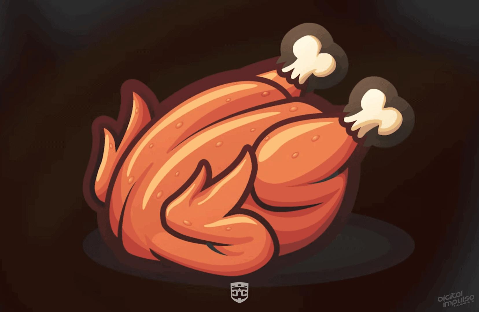 Roast Chicken Illustration image