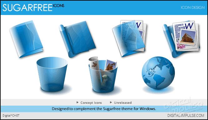 Sugarfree Icons Preview image