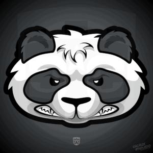 Mad Panda Head Design image