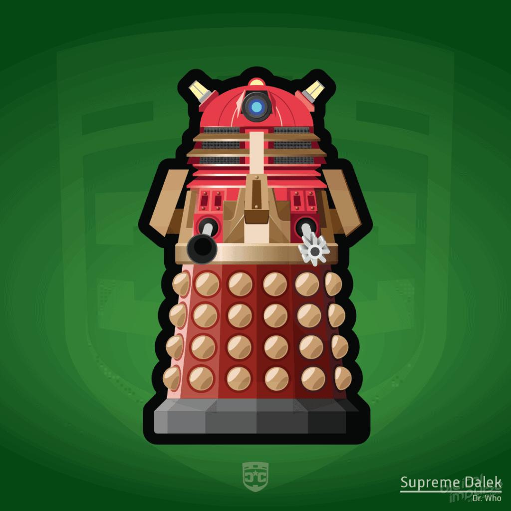 Robot - Dalek (Flat) image