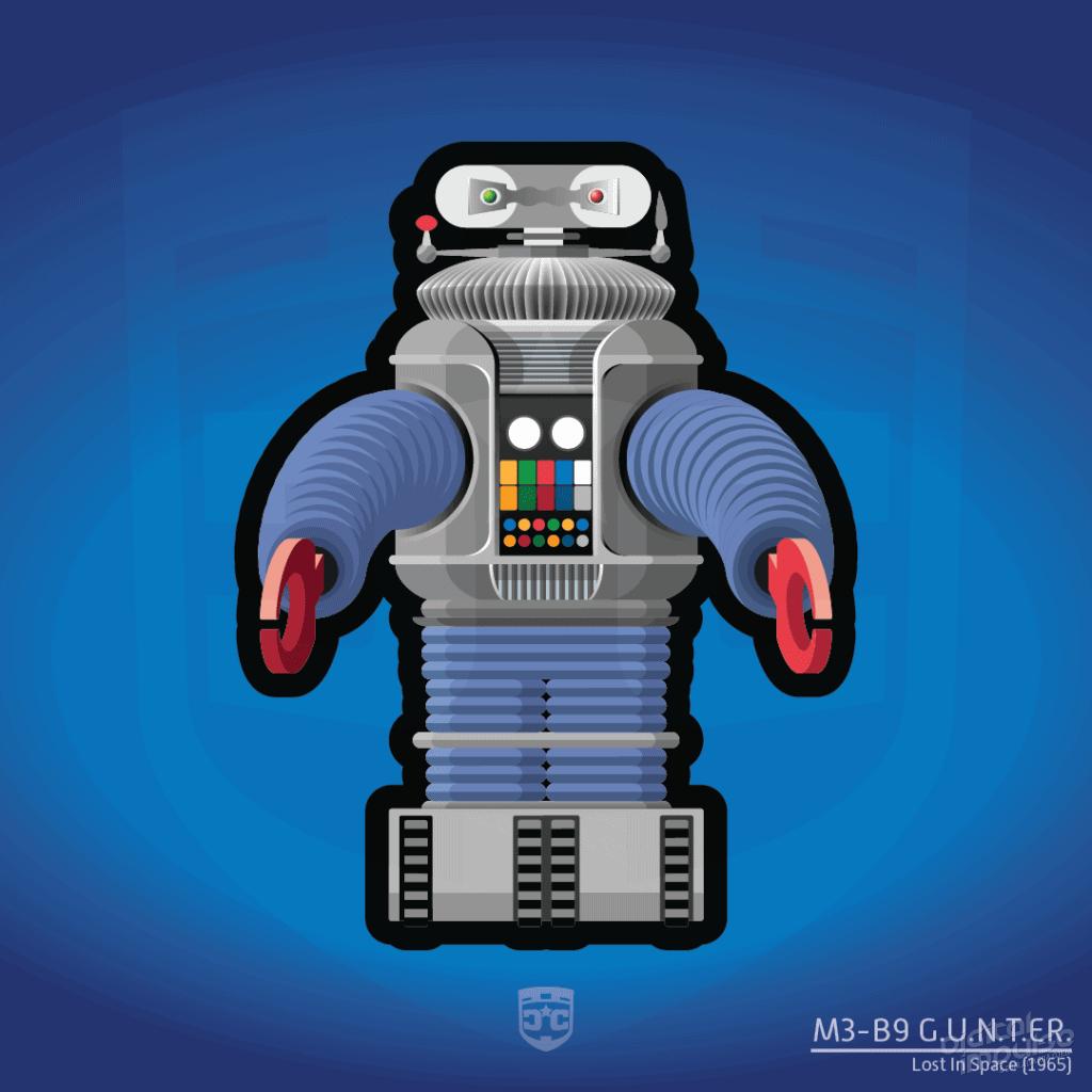 Robot - G.U.N.T.E.R. (Flat) image