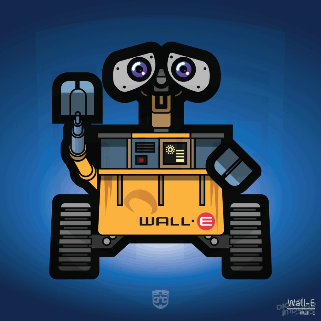 Robot - Wall-E (Flat) image