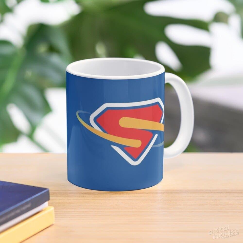 Super – Blue Mug