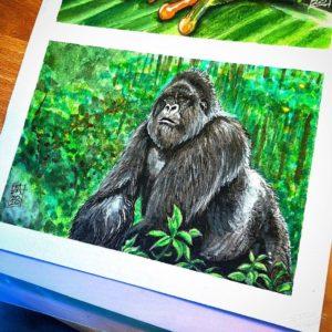 Silverback Gorilla 001 image