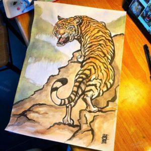 Tiger Roar - 001 image