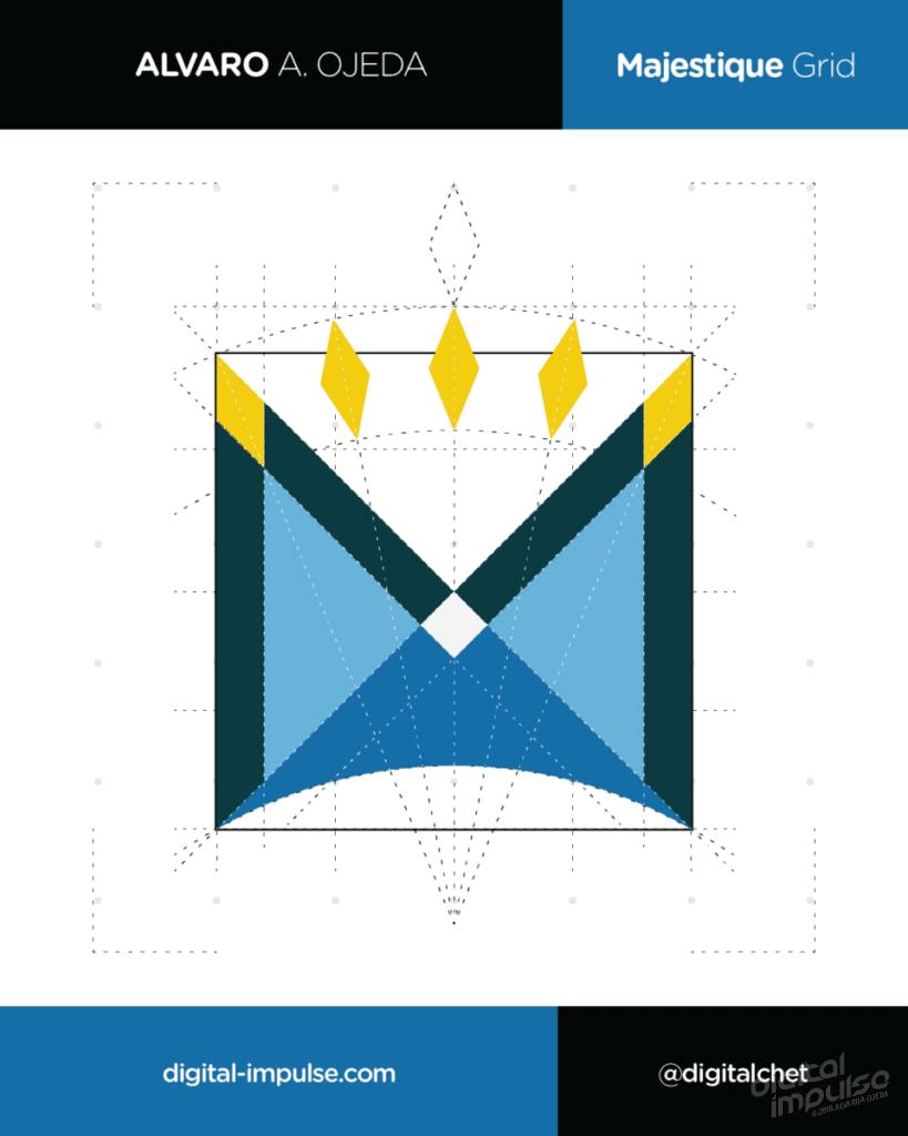 Majestique Logo Grid Preview image