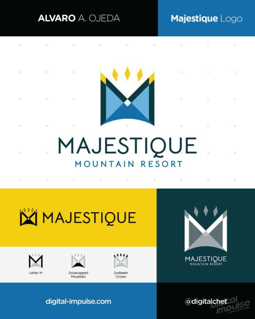 Majestique Logo Preview image
