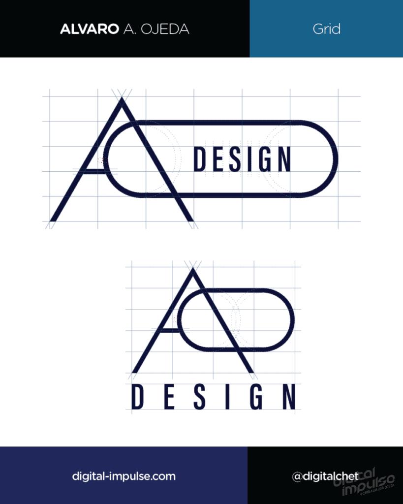 AO Design Logo Grid Preview