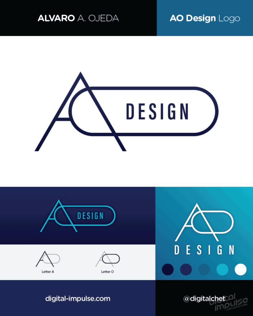 AO Design Logo Preview image