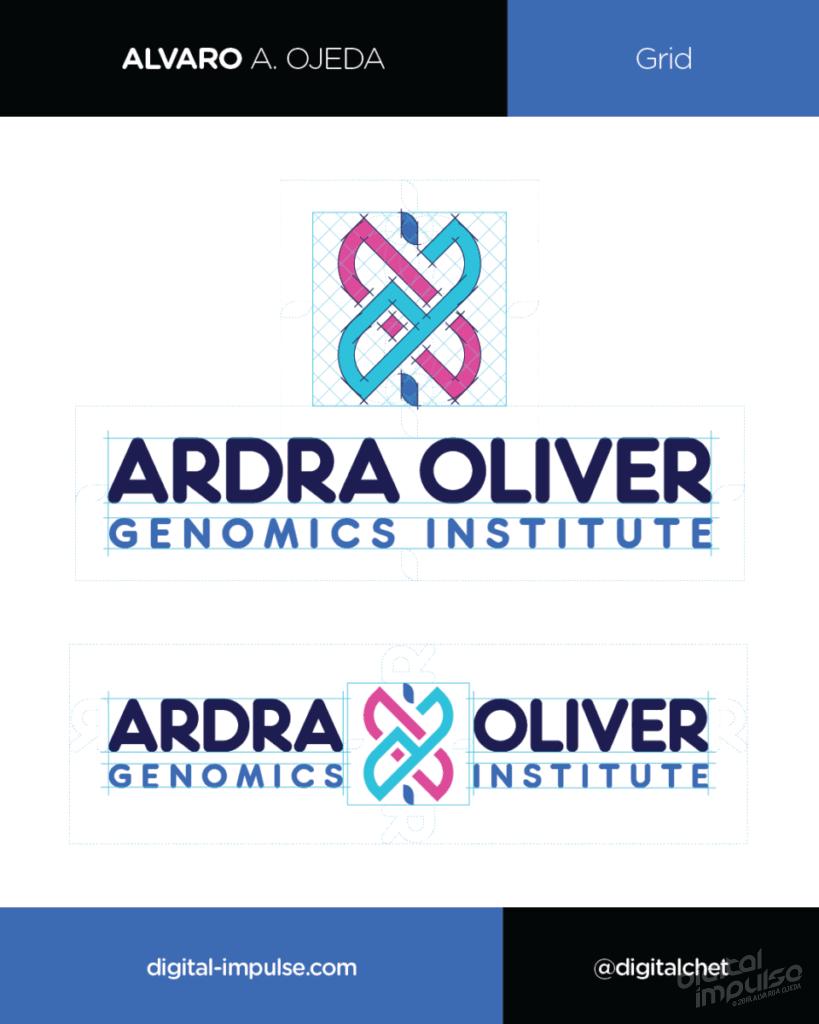 Ardra Oliver Logo Grid Preview image