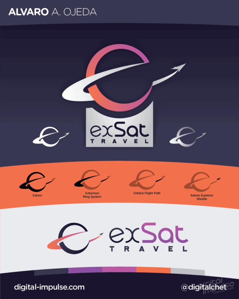 exSat Logo Preview image