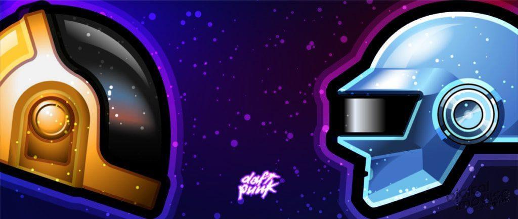 Daft Punk Tribute 2021 - Wallpaper 02 - 2560x1080 image