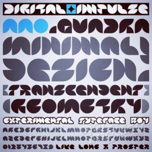 AAO-Quadra Typeface Preview image